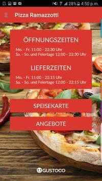 Pizza Ramazzotti poster