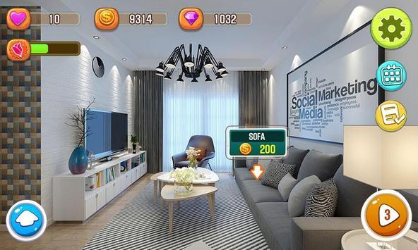 House Designer - Renovate House Games screenshot 2
