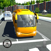 Transport Bus Simulator 2019 - Extreme Bus Driving icon