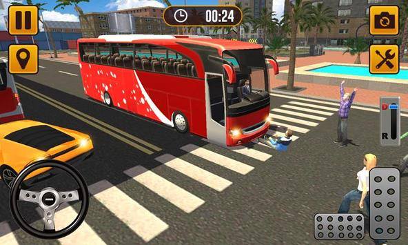 Transport Bus Simulator 2019 - Extreme Bus Driving الملصق