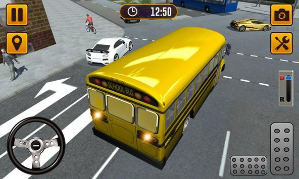 Transport Bus Simulator 2019 - Extreme Bus Driving تصوير الشاشة 1