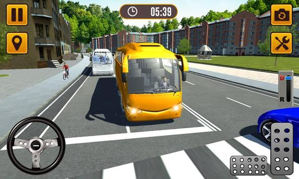 Transport Bus Simulator 2019 - Extreme Bus Driving تصوير الشاشة 2