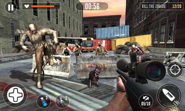 Zombie Escape Games - Zombie Killing Simulator poster