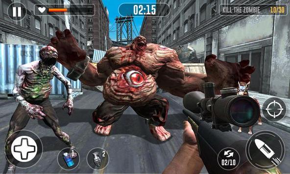 Zombie Escape Games - Zombie Killing Simulator screenshot 1