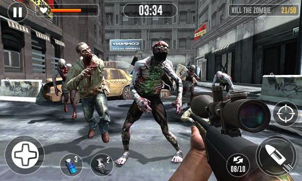Zombie Escape Games - Zombie Killing Simulator screenshot 2