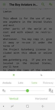 eReader Prestigio: eBook Reader, EPUB Reader screenshot 5
