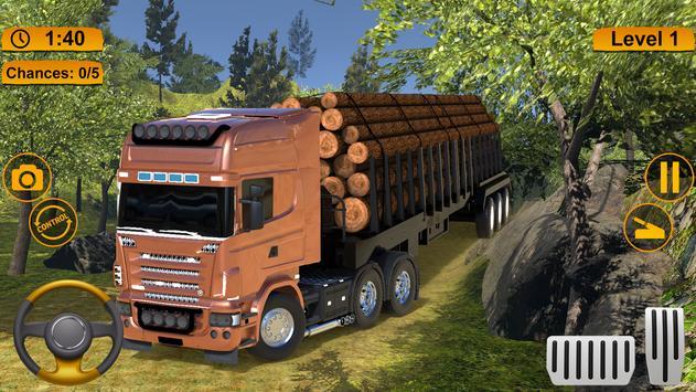 Off-road Cargo Truck Simulator poster
