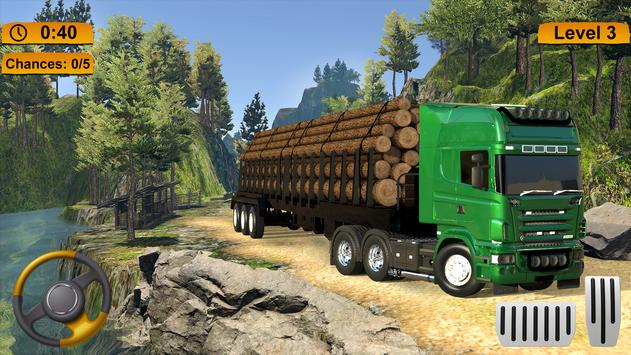 Off-road Cargo Truck Simulator screenshot 10