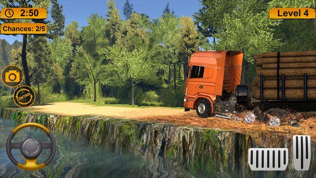 Off-road Cargo Truck Simulator screenshot 7