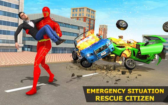 Light Hero Speed Robot Rescue Mission screenshot 3