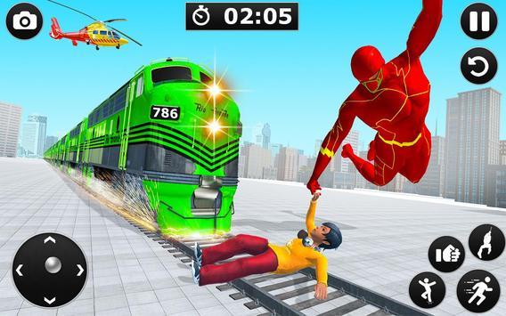 Light Hero Speed Robot Rescue Mission screenshot 8