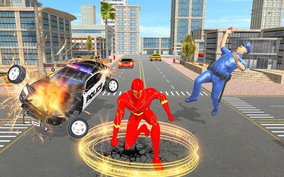 Light Hero Speed Robot Rescue Mission screenshot 9