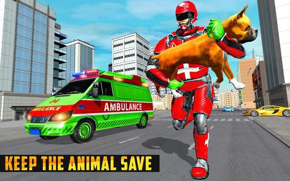 Animal Rescue Robot Hero screenshot 3