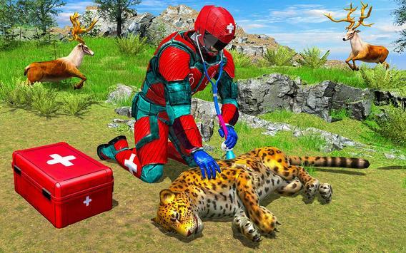 Animal Rescue Robot Hero screenshot 8