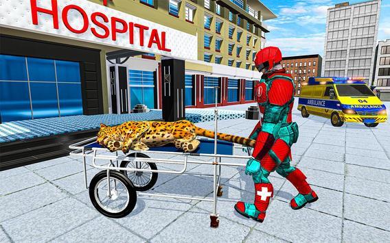 Animal Rescue Robot Hero screenshot 1