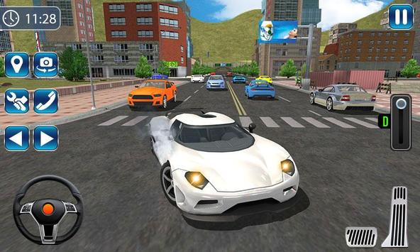 City Car Driving Simulator 2019 - Car Racing 3D screenshot 1