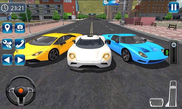 City Car Driving Simulator 2019 - Car Racing 3D screenshot 2