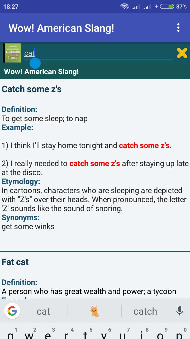 Wow ! American English Slang! for Android - APK Download