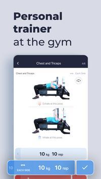 Gym Gym Workout Personal Trainer Bodybuilding Ekran Görüntüsü 4