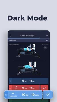 Gym Gym Workout Personal Trainer Bodybuilding Ekran Görüntüsü 9