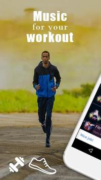 GYM Radio: workout music app, workout songs poster
