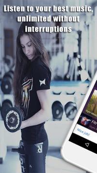 GYM Radio: workout music app, workout songs screenshot 2