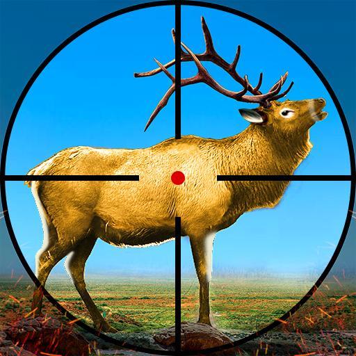 野生の鹿狩りの冒険:動物シューティングゲーム