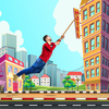 City bounce rope hero–Free offline adventure games иконка