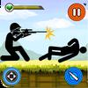 Stickman Fusil à pompe Tournage - action gibier icône