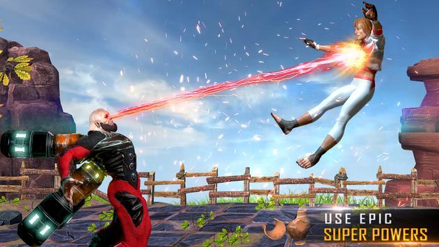 本物のスーパーヒーローカンフーファイトチャンピオン-新しいゲーム スクリーンショット 17