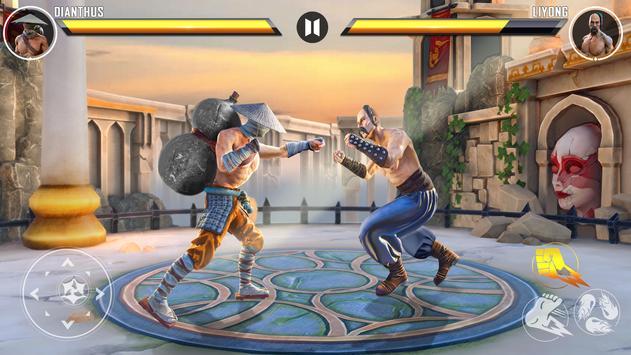 本物のスーパーヒーローカンフーファイトチャンピオン-新しいゲーム スクリーンショット 2
