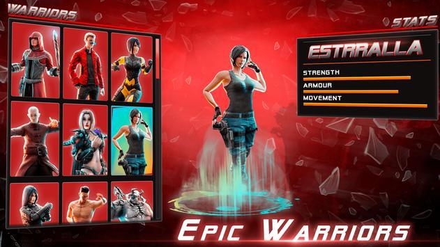 本物のスーパーヒーローカンフーファイトチャンピオン-新しいゲーム スクリーンショット 7