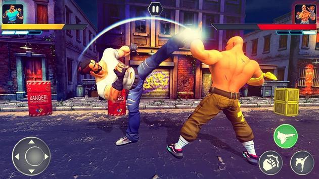 本物のスーパーヒーローカンフーファイトチャンピオン-新しいゲーム スクリーンショット 4