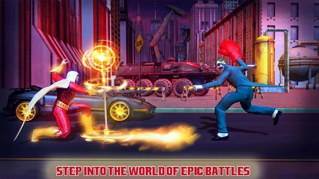 本物のスーパーヒーローカンフーファイトチャンピオン-新しいゲーム スクリーンショット 5