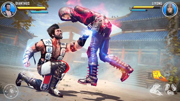 Juegos de lucha de kung fu: juegos de peleas captura de pantalla 8