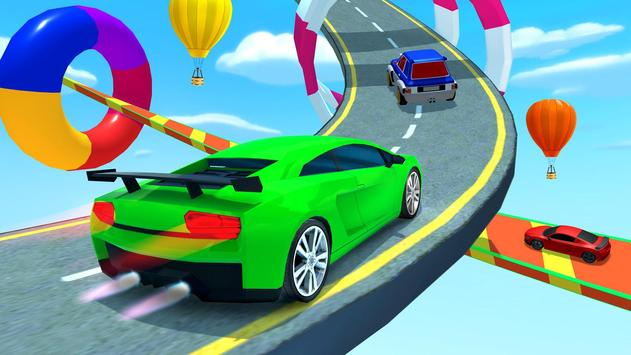Mega Ramp Hot Car Jumping Race Off Stunt Game 2020 poster