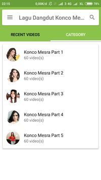 Lagu Dangdut Konco Mesra screenshot 2