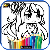 Comment colorer Gacha Life HD icon