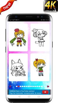 Comment colorer Gacha Life HD screenshot 1