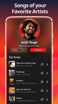 Hindi Songs,Tamil Indian Gana,Bhajan MP3 Music App скриншот 4