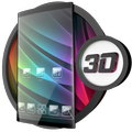 Glass theme & glass icon pack + amoled wallpapers