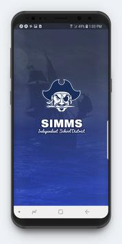 Simms ISD poster