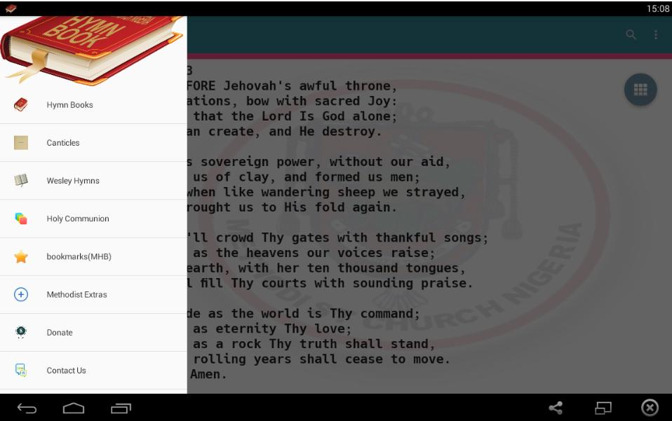 Methodist Hymn Book with Tunes offline for Android - APK