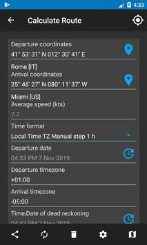 Nautical Calculator capture d'écran 3