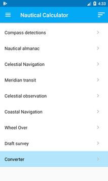 Nautical Calculator 포스터