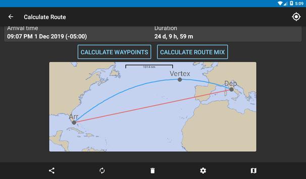 Nautical Calculator capture d'écran 17