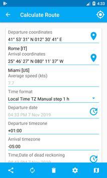 Nautical Calculator capture d'écran 2