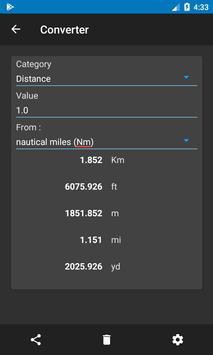 Nautical Calculator 스크린샷 7