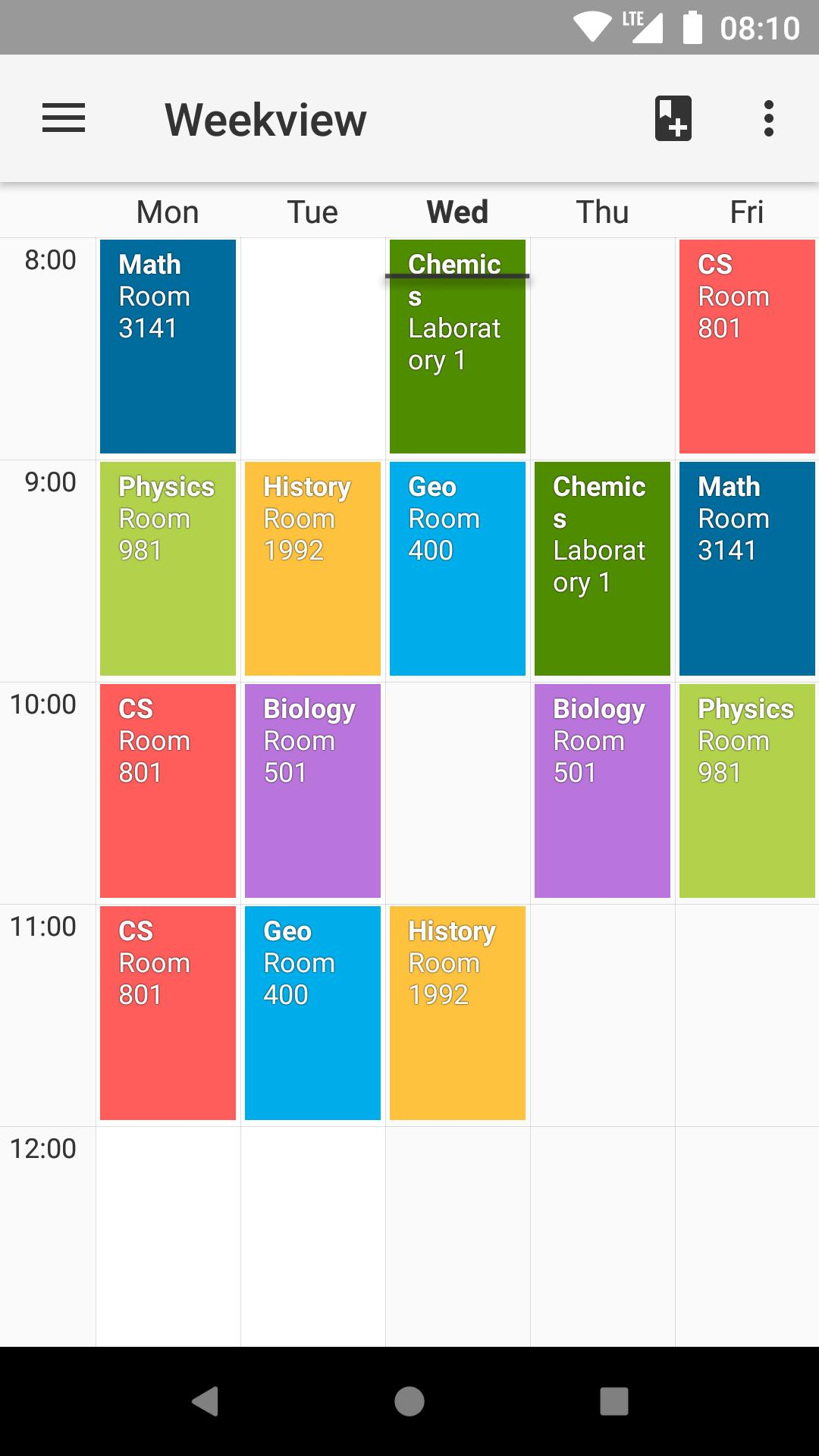 Timetable for Android - APK Download