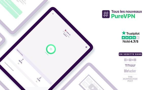 PureVPN capture d'écran 7